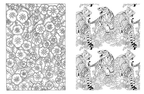 japanese coloring book japanese coloring japanese coloring