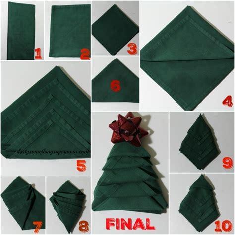 pliage serviette de noel pliage de serviette pour no 235 l id 233 es et conseils