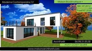constructeur de maison d architecte en ossature bois et With plan maison avec patio 17 maison container modulaire ossature bois d architecte