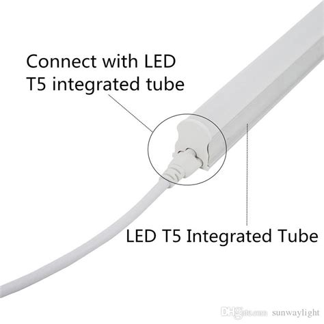 2019 1ft 5ft t5 t8 double end 3pin led connector cable wire t8 extension cord for