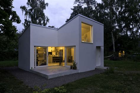 Small Swedish House in Höganäs, Sweden by DinellJohansson