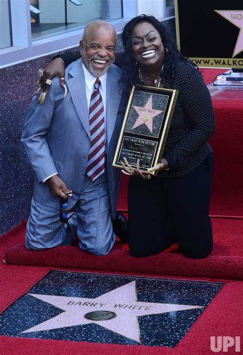barry white receives posthumous star  hollywood walk