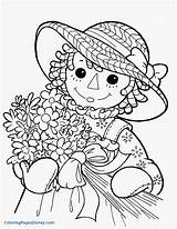 Raggedy Coloring Ann Pages Andy Magnolia Printable Doll Sheets Pattern Face Colouring Coloringcolor Books Drawings Antique Dolls Template Magnol Inspirational sketch template