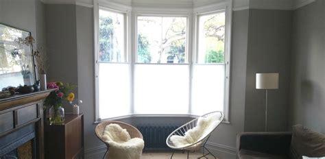 bottom  roller blinds bay window peckham