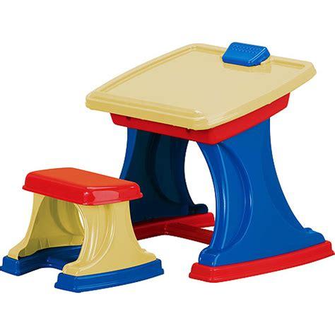 Plastic Toys Cool Desk Easel Develop Kids Toddler Table