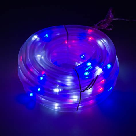 red white and blue solar lights greenlighting new 32 39 foot solar string lights w 100