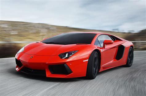 Lamborghini Aventador, Car, Sport Car, Red, Running