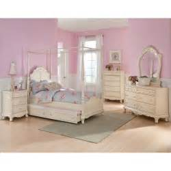 Details About Twin Canopy Bedroom Youth Princess Rebecca