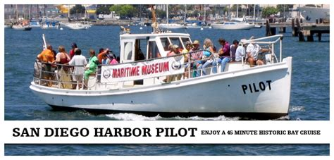 Boat Us San Diego by San Diego Harbor Pilot Boat Maritime Museum Of San Diego