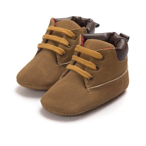 crib shoes boy baby shoes toddler boys ankle boots lace up crib