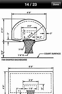 Measurements for a basketball backboard | Wood Projects ...