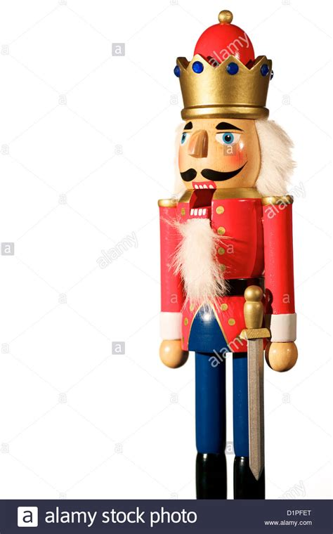 wooden nutcracker soldier christmas decoration  mouth