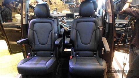 Gambar Mobil Mercedes V Class by Konfigurasi Jok Tengah Dan Belakang Mercedes V Class