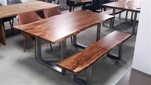 Esstisch Akazie Baumkante : esstisch kerala massivholz akazie 200x100 cm mit baumkante ~ Watch28wear.com Haus und Dekorationen