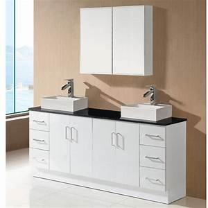 Modern Double Sink Bathroom Vanity Base CabinetsBathroom