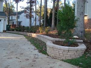Driveway Retaining Wall - Floors & Doors Interior Design