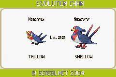 Pokemon Taillow Evolution Level Pokemon Images | Pokemon ...