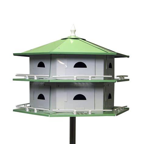 heath outdoor heathah12sr deluxe purple martin bird house