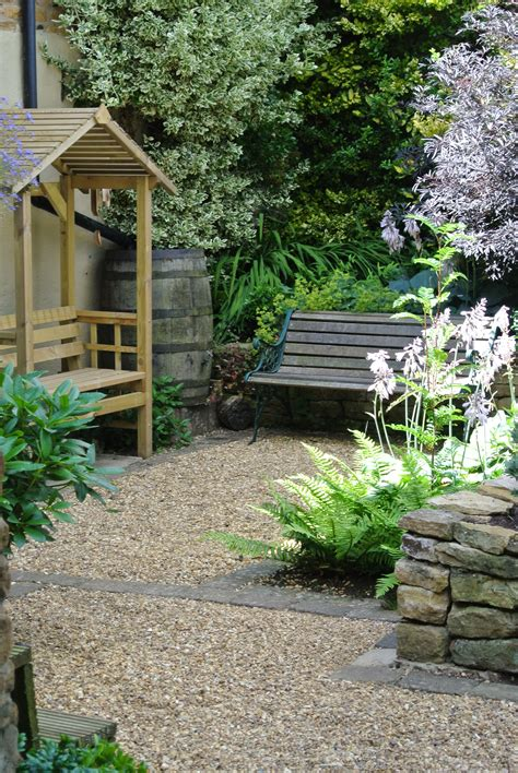 Garden Design  Northamptonshire  Small Cottage Garden