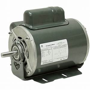 1  2 Hp 1140 Rpm 230 Volt Ac General Electric Motor 10