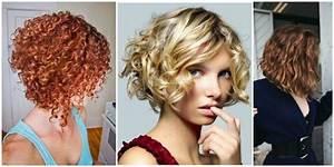 Carré Plongeant Long Bouclé : coiffure carre plongeant sur cheveux boucles ~ Melissatoandfro.com Idées de Décoration