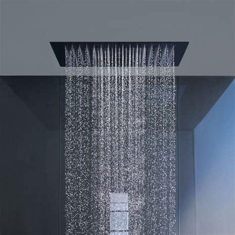 ceiling mount rainfall shower ceiling shower heads neiltortorella