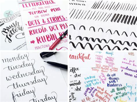 Kalligraphie ubungsblatter kostenlos was ist handlettering und wie fange ich damit an? Handlettering - kreatives Schreiben, wie du einfach Lettering lernen kannst