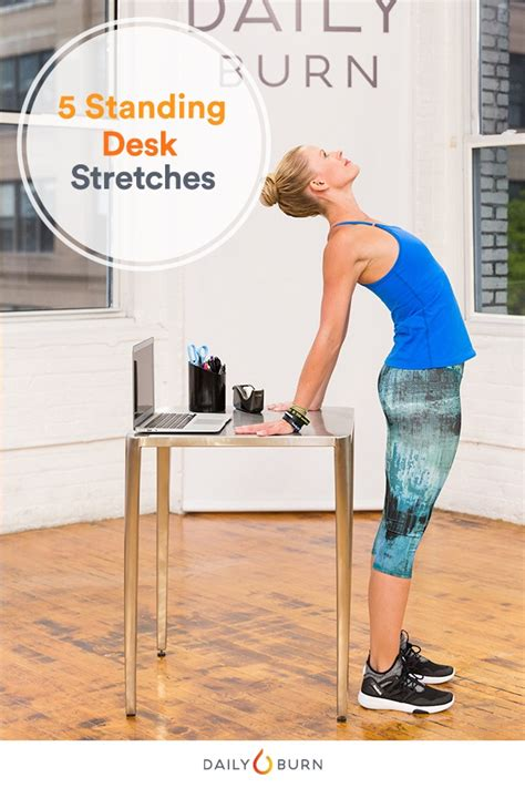 standing desk lower back pain 5 standing desk stretches to relieve stress now daily burn