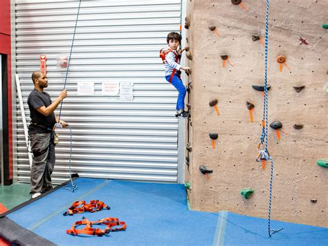 Indoor Rock Climbing Conquer Our Foot Wall