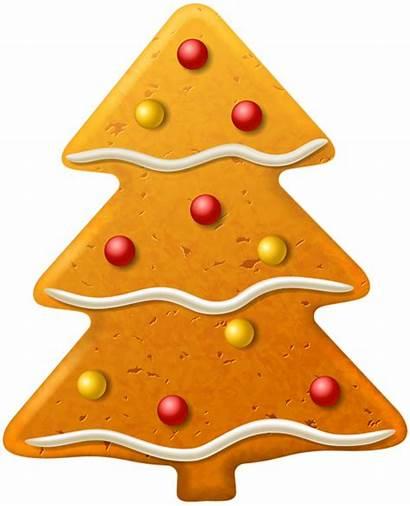 Cookie Christmas Cookies Clipart Tree Clip Milk