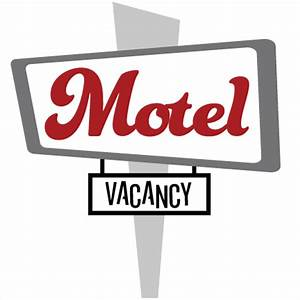 Motel Vacancy Sign SVG file for scrapbooking vacation svg ...