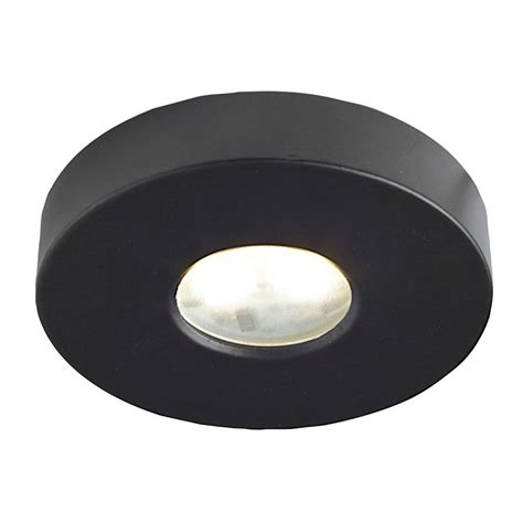 puck lights lowes shop dals lighting superpuck 2 63 in hardwired in