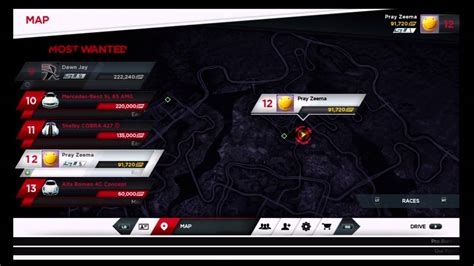 Bugatti Location On Nfs Most Wanted Map