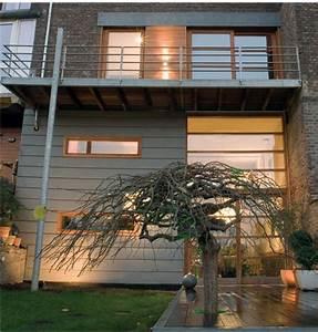architecte bertrand vanturenhout maison vanturenhout With maison brique et bois 4 architecte bertrand vanturenhout maison vanturenhout