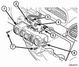 2001 Dodge Ram 1500 Blower Parts Diagram
