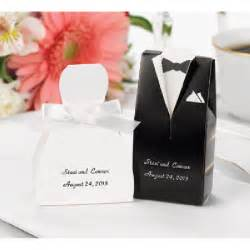 wedding favor box wedding favor boxes personalized tux and gown zbk4911p