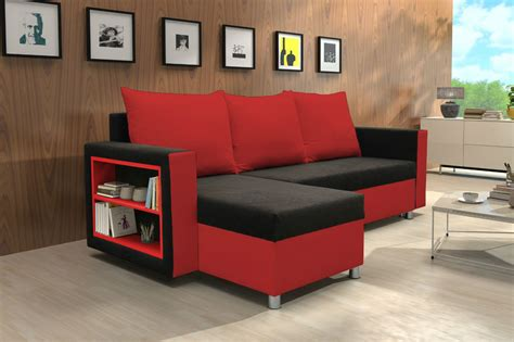 Luxury Red Sofa Bed Sheets #2924