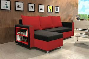 Red and black sofa for sale couch sofa ideas interior for Red and black sofa bed