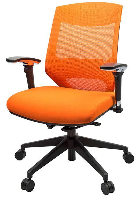 orange desk chair vogue orange mesh office chair office stock