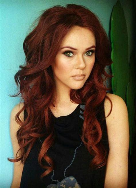 Best Red Hair Color Hairstyles And Haircuts 2016 2017