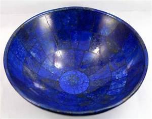 Royal Blue Lapis Lazuli : hand crafted royal blue lapis lazuli bowl 149 x 70mm 417gm catawiki ~ Markanthonyermac.com Haus und Dekorationen