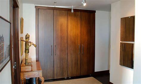 Pivot Hinges For Closet Doors by Brandner Design Slab Pivot Closet Doors