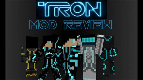 minecraft tron gridcraft mod review youtube