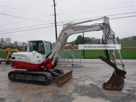 takeuchi tb excavator cab air hyd thumb  valve  hrs