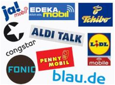 aldi talk lidl mobile  prepaid tarife aus dem