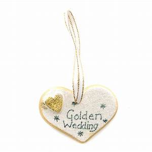 golden wedding anniversary ceramic heart 10044 olive With golden wedding anniversary gifts