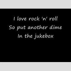 Britney Spears  I Love Rock 'n' Roll (with Lyrics) Youtube