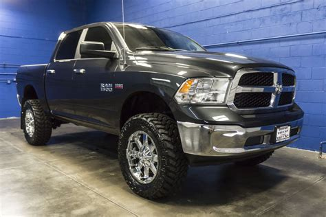 Used Lifted 2016 Dodge Ram 1500 SLT 4x4 Truck For Sale   33019
