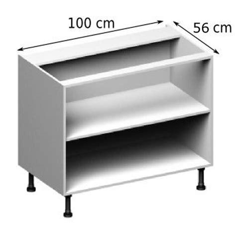 meuble cuisine 100 cm meuble caisson bas largeur 100 vial menuiserie
