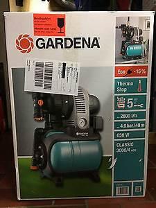 Gardena Pumpe 3000 4 : gardena hauswasserwerk pumpe 3000 4 eco ungebraucht ~ Lizthompson.info Haus und Dekorationen
